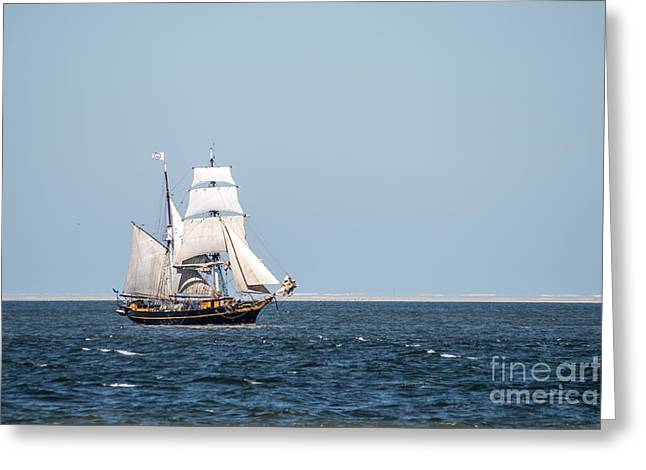 on the way to Texel Greeting Card by Hannes Cmarits