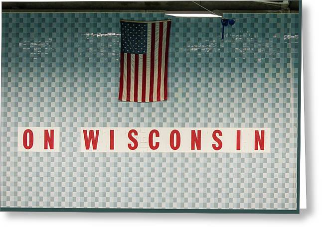 On Wisconsin  Greeting Card