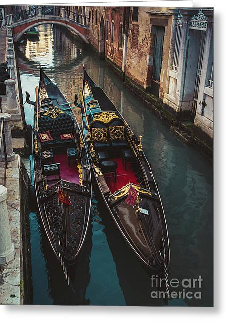 Once In Venice Greeting Card