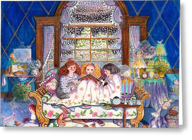 Once Upon A Time... Greeting Card by Deborah Burow