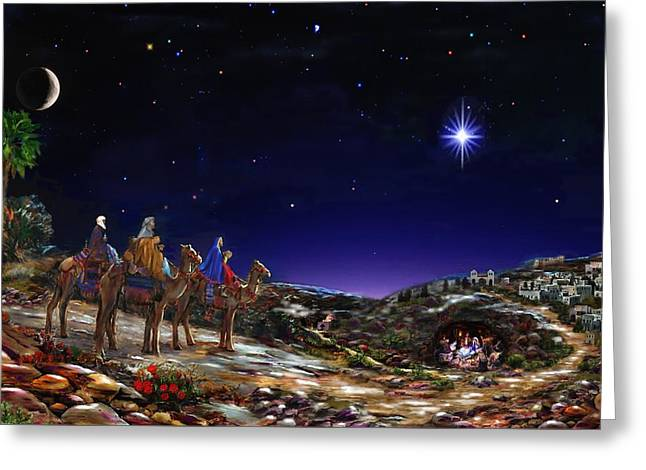 Once Upon A Time  - Christmas Time Greeting Card