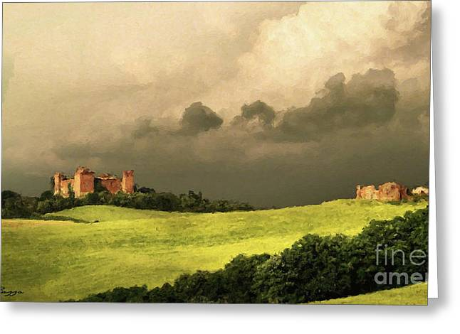 Once Upon A Time In Tuscany Greeting Card