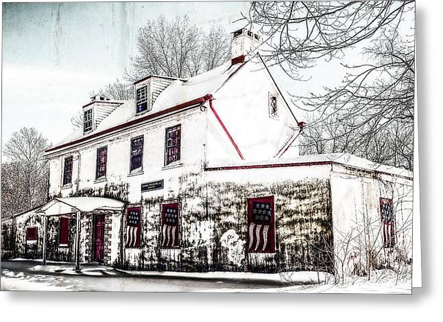 Vennell Tavern House 1795 Greeting Card