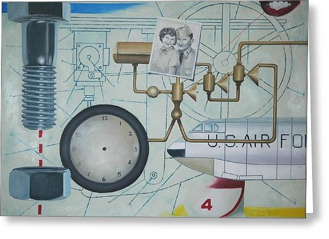 Once Upon A Time Greeting Card by Robert Smith