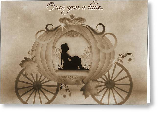Once Upon A Time Greeting Card by TnBackroadsPhotos