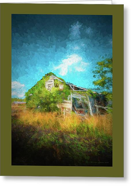 Once Was Home Greeting Card by Marvin Spates