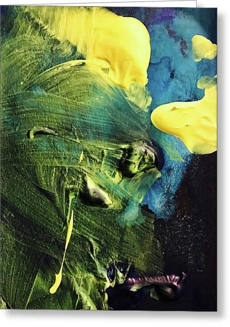 One Greeting Card by Anna Villarreal Garbis
