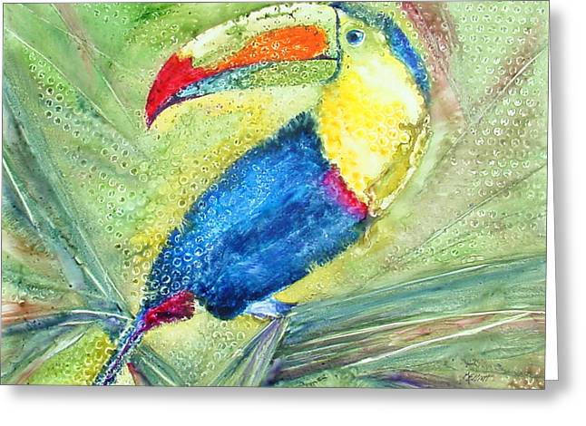 One Can't But Toucan Greeting Card