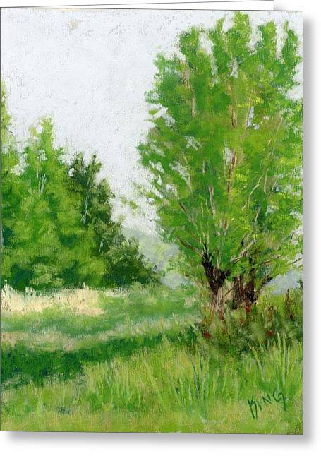 One Fine Spring Day Study Greeting Card