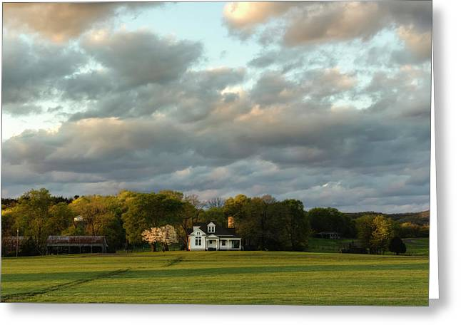 One Hundred Yards To Home Greeting Card