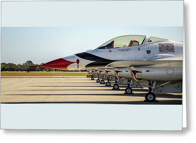 One Jet Or Seven Greeting Card