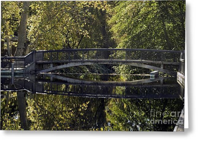 One Mile Bridge Greeting Card