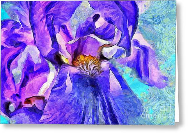 One Of A Kind Greeting Card by Krissy Katsimbras