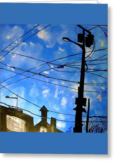 One Philly Sky Greeting Card