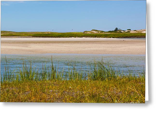 One Sunny Saturday On Cape Cod Greeting Card