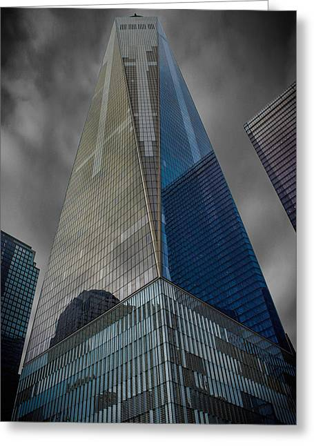 One World Observatory Ny Greeting Card