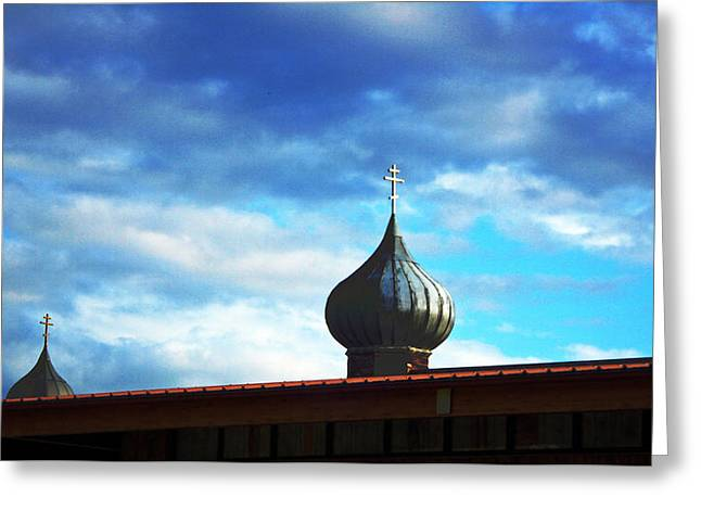 Onion Domes Greeting Card
