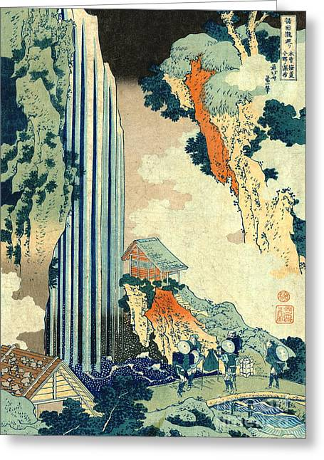 Ono Falls 1833 Greeting Card by Padre Art