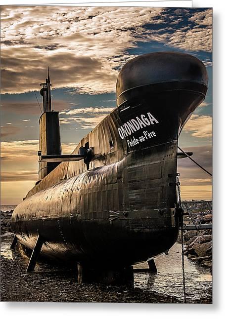 Onondaga Submarine Greeting Card