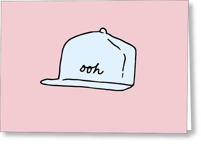 Ooh Hat Greeting Card