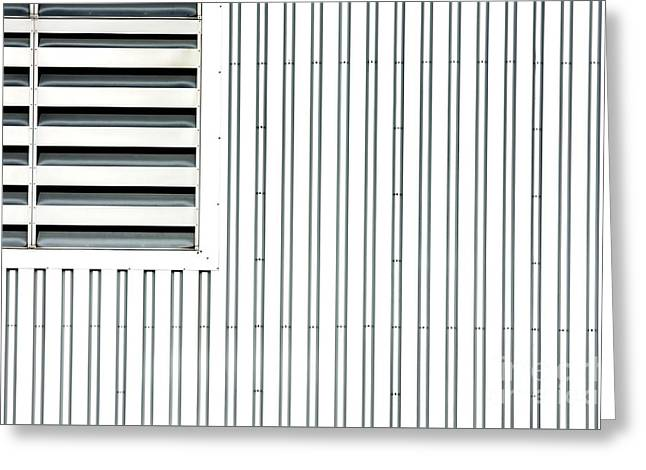 Open Air Grating Greeting Card by Jan Brons