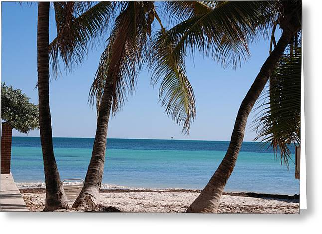Open Beach View Greeting Card by Susanne Van Hulst