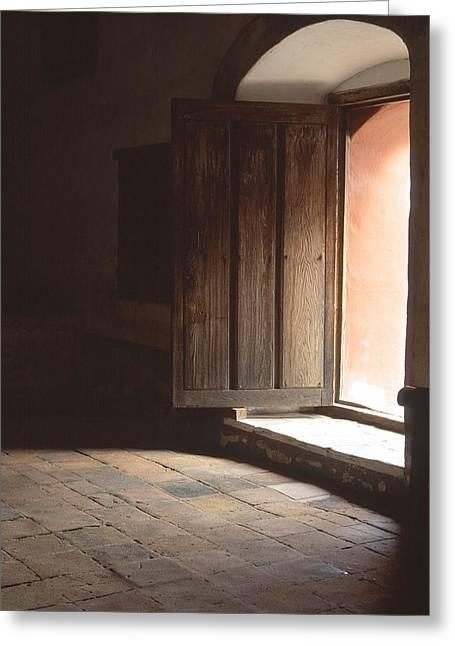 Open Door Greeting Card by Eric Foltz