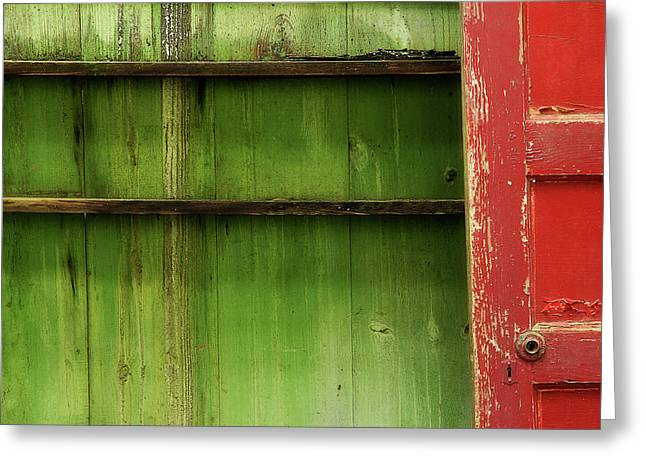Open Door Greeting Card by Mike Eingle