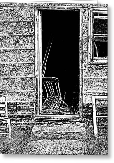 Open Door Policy Greeting Card by Sonny Meyers