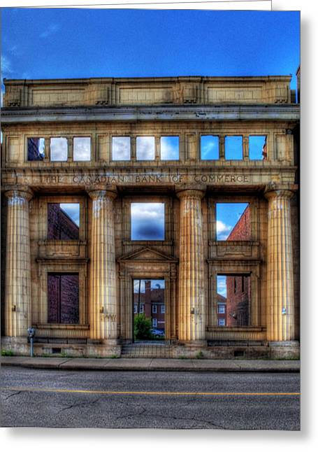 Open For Business Greeting Card by Dave DelBen