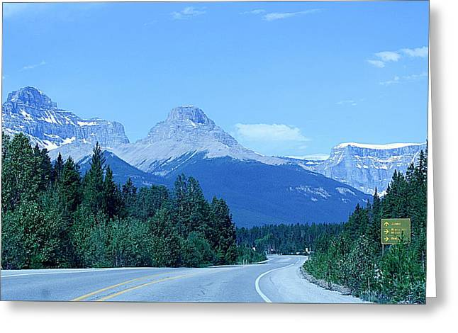 Greeting Card featuring the photograph Open Road by Al Fritz
