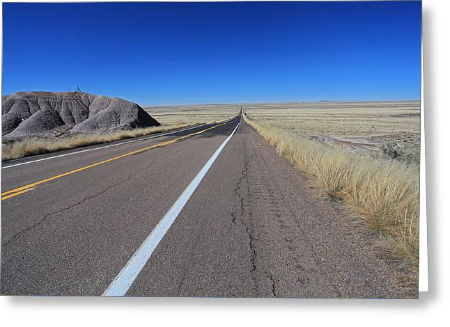 Open Road Greeting Card by Gary Kaylor