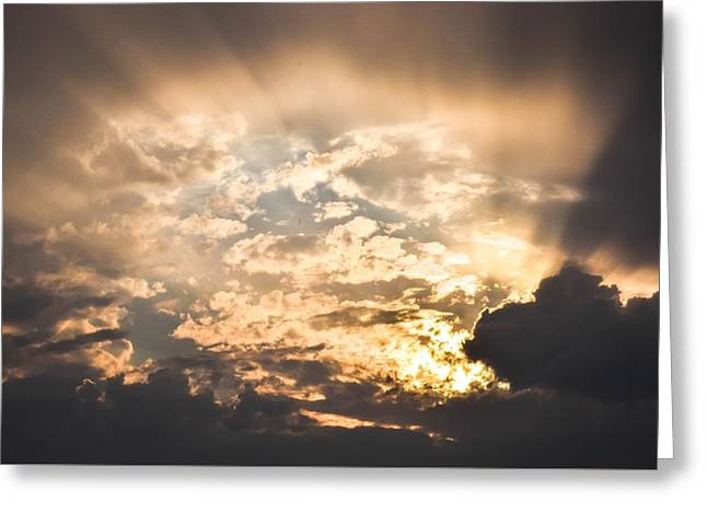 Open The Sky Greeting Card by Cco
