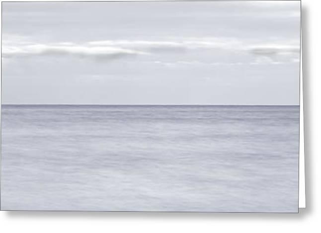 Open Water Panorama Greeting Card