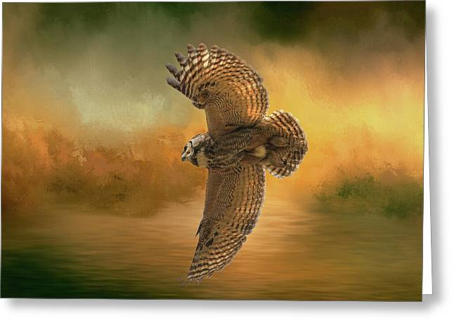Open Wings Greeting Card by Donna Kennedy