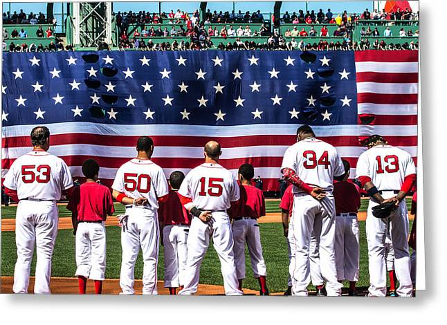 Opening Day 2015 Greeting Card by Paul Treseler