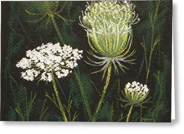 Opening Lace Greeting Card by Lisa Kretchman