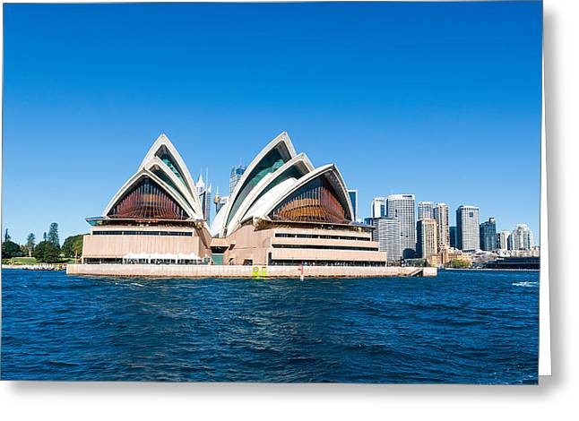 Opera House Greeting Card by Niel Morley