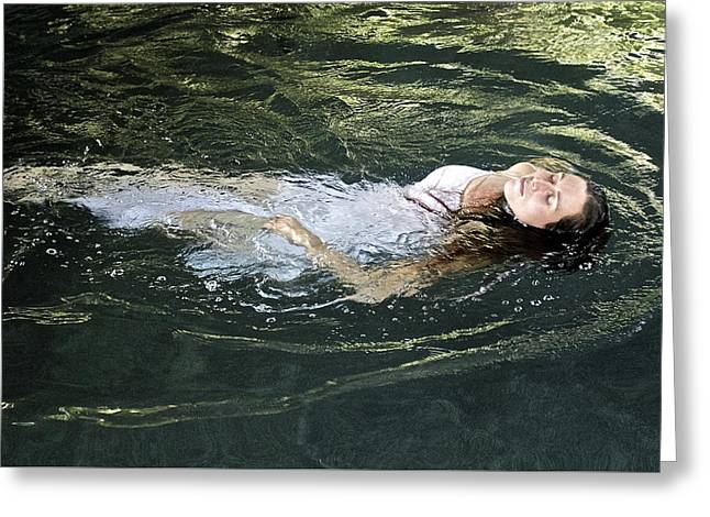 Ophelia Greeting Card by Venetia Featherstone-Witty