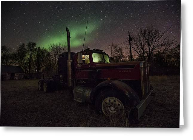 Optimus Borealis  Greeting Card