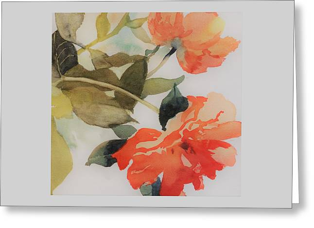 Orange Blossom Special Greeting Card