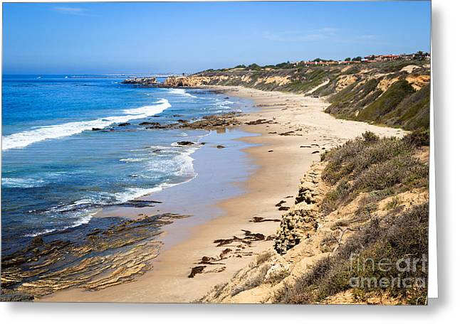 Orange County California Greeting Card by Paul Velgos