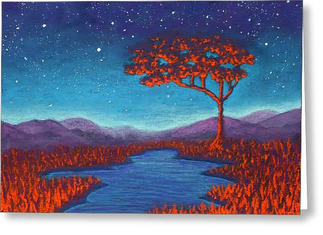 Orange Tree 01 Greeting Card