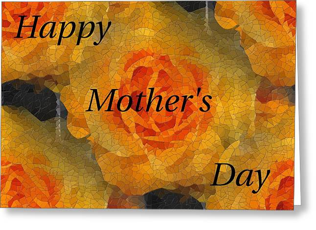 Orange You Lovely Mothers Day Greeting Card by Tim Allen