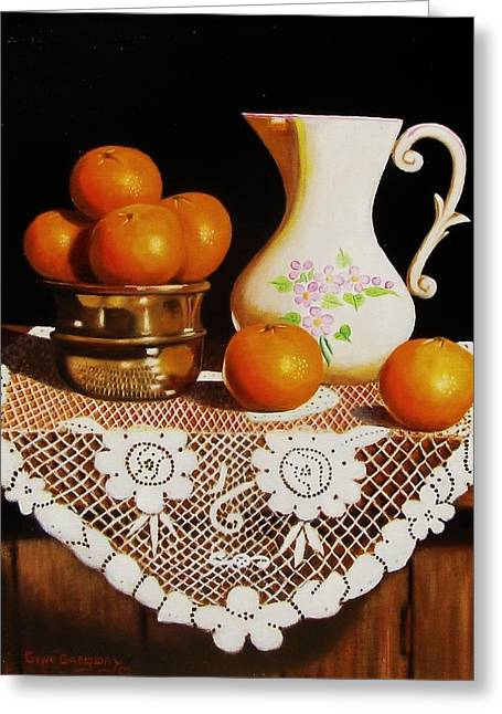 Orange You Sweet  Greeting Card