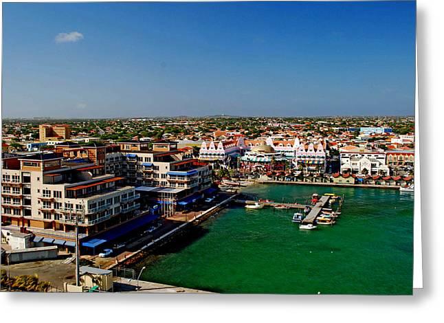 Oranjestad Aruba Greeting Card