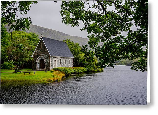 Oratory In Gougane Barra National Park In Ireland Greeting Card by Andreas Berthold