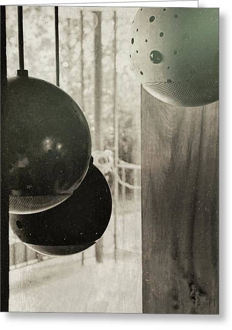 Orbiting Orbs Greeting Card by JAMART Photography