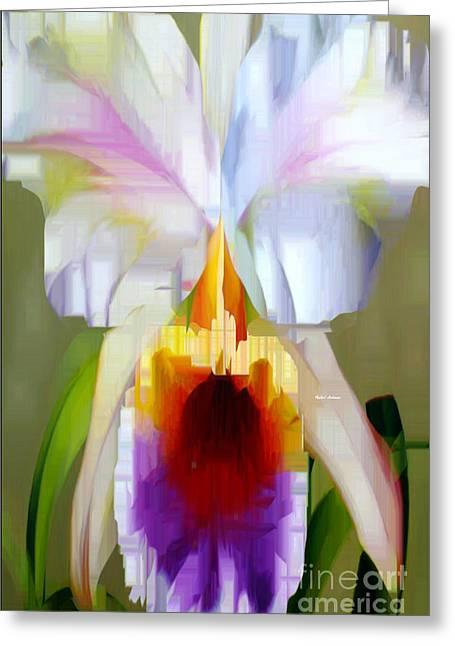 Orchid Cattleya Greeting Card
