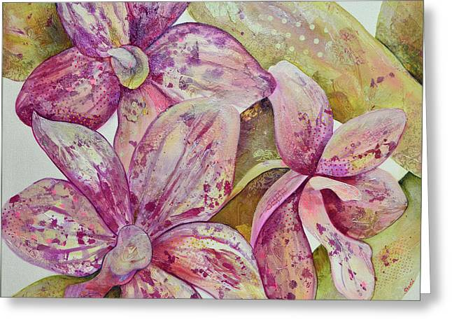 Orchid Envy Greeting Card